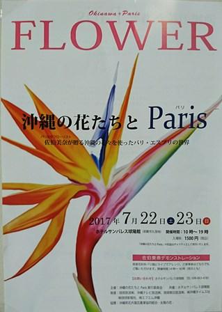 沖縄の花たちと(Web小)