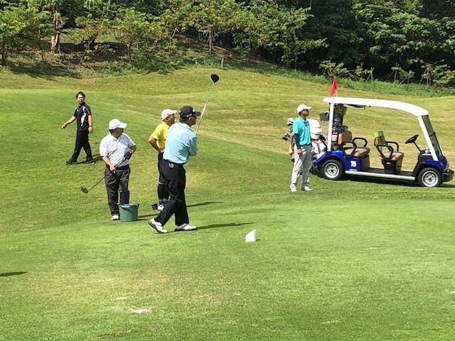 ゴルフコンペ 4