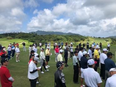 ゴルフコンペ 2