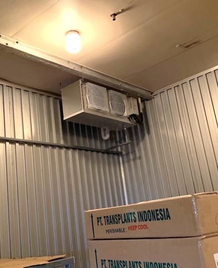 新型冷却機械